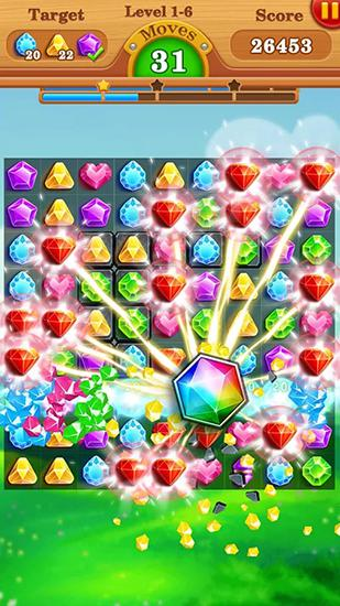 Jewels star legend: Diamond star für Android