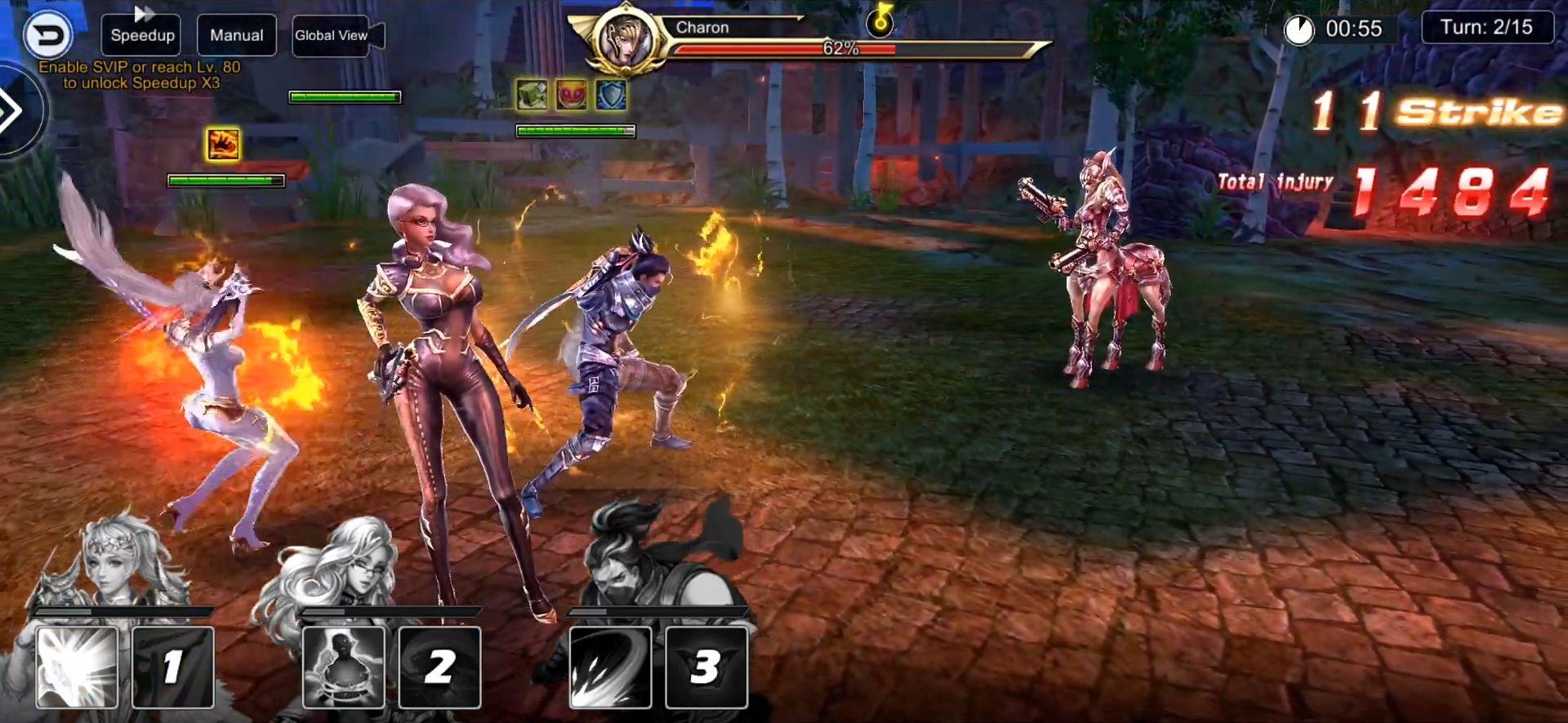 Deity Arena Mobile screenshot 1
