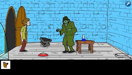 Halloween Scooby saw game captura de tela 1