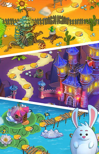 Arcade Petal pop adventures für das Smartphone