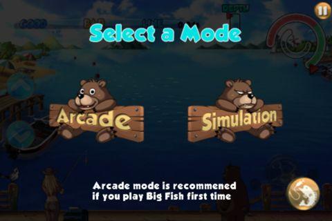 Arcade-Spiele: Lade Großer Fisch auf dein Handy herunter