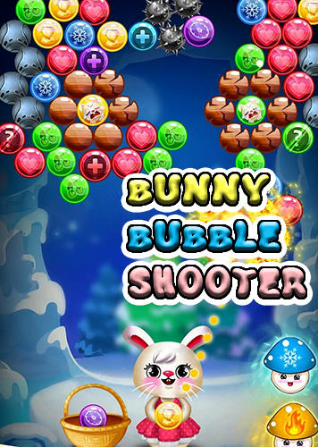 Bunny bubble shooter pop: Magic match 3 island Screenshot
