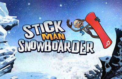 logo Stickman Snowboarder