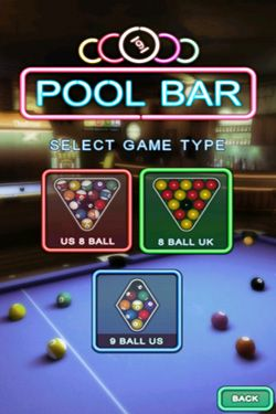 Multiplayer games Pool Bar HD for smartphone