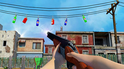 Bottle shooter game 3D capture d'écran 1