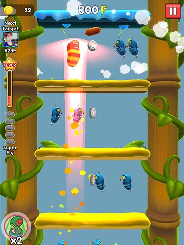 Flying larva für Android