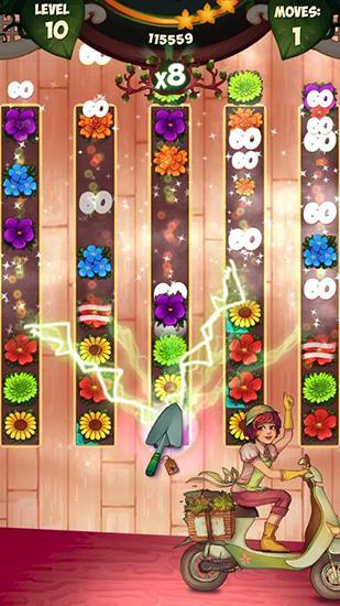 Arcade Blossom jam: Flower shop für das Smartphone