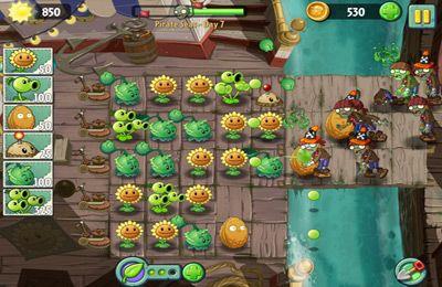 Les Zombies contre Les Plantes 2