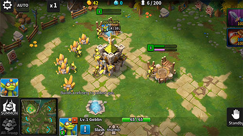 Online Strategiespiele Tales arena: This is the RTS games on your palm auf Deutsch
