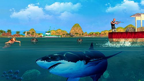 Shark simulator 2018 für Android