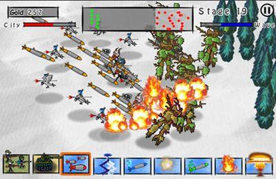 Doodle Wars 4: Armes à feu contre Epée en russe