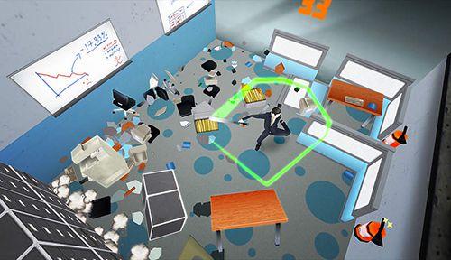 Arcade: Lade Super Zerschlag das Büro: Endlose Zerstörung auf dein Handy herunter