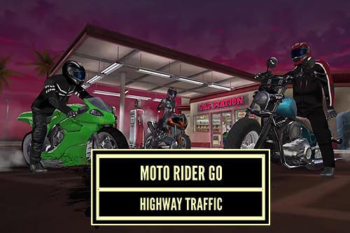 Moto rider go: Highway traffic screenshot 1