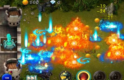 Screenshot Kill Devils - kill monsters to resist invasion & unite races! on iPhone