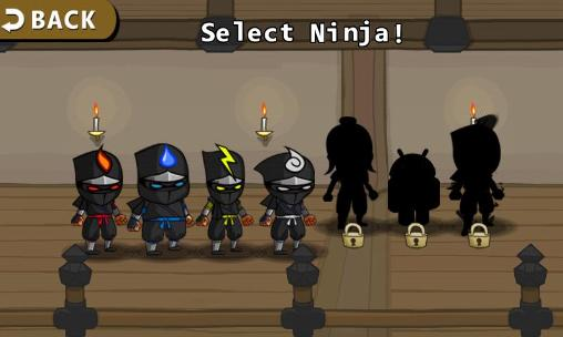 Fighting games Ninjas: Infinity for smartphone