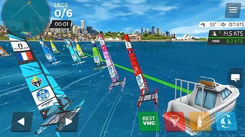 Virtual regatta inshore для Android