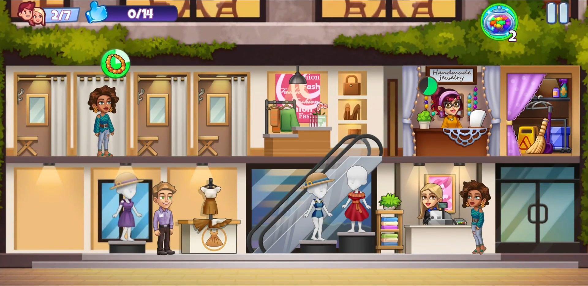 Fashion Shop Tycoon スクリーンショット1