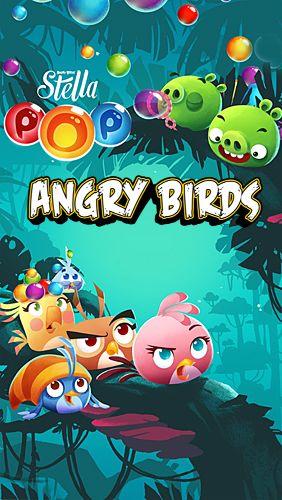logo Angry birds Stella: Pop