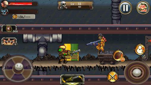 Arcade Zombie assassin: Undead rising für das Smartphone