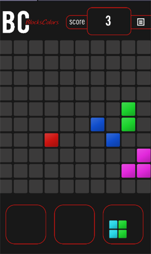Blocks colors für Android
