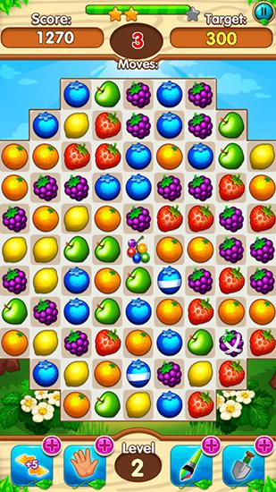 Fruits forest: Match 3 mania для Android