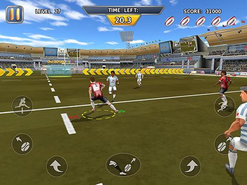 Sport Rugby: Hard runner für das Smartphone