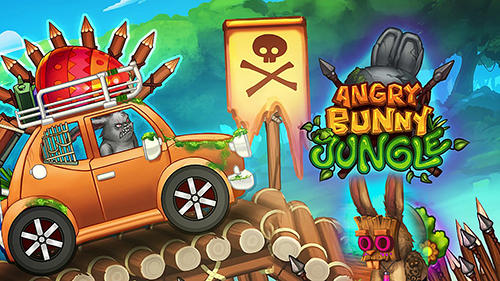 Angry bunny race: Jungle road icono