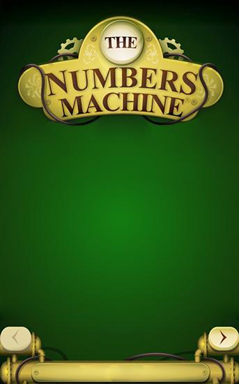 The numbers machine Screenshot