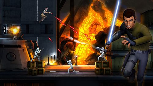 Screenshot Star wars rebels: Recon missions on iPhone