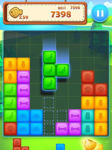 Pet block puzzle: Puzzle mania auf Deutsch
