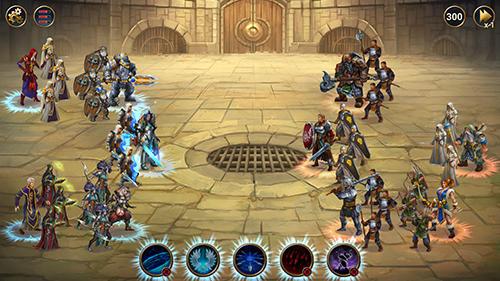 Capturas de tela de Chaos lords: Tactical RPG