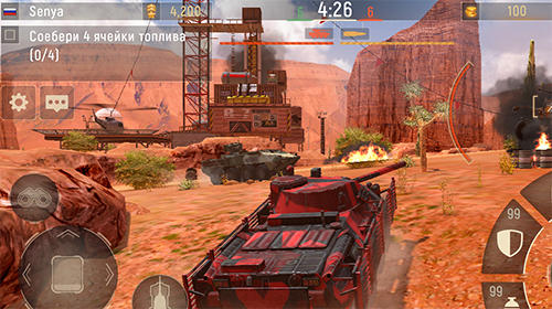 Action Metal force: War modern tanks für das Smartphone