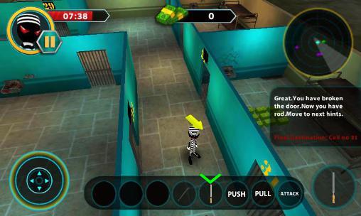Juegos con stickman Stickman escape story 3D en español