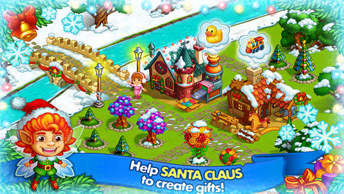 Happy new year farm: Christmas for Android