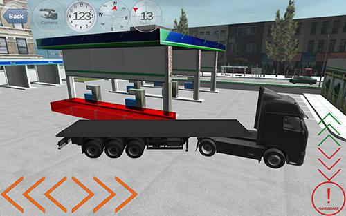 Trucker-Spiele Duty truck auf Deutsch