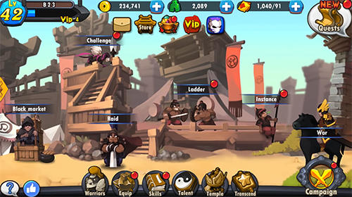 Soul warriors for Android