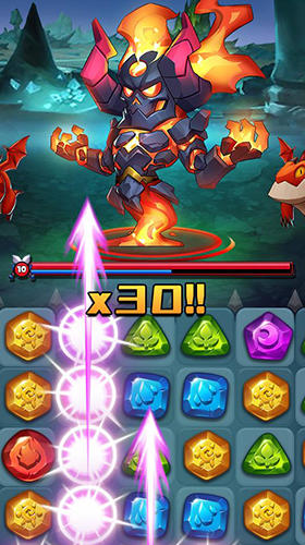 Android spiele Raids and puzzles: RPG quest