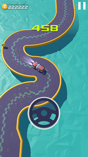 Endless highway: Finger driver für Android