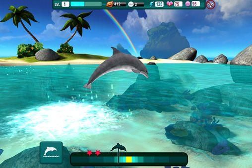 Delphin Paradies: Wilde Freunde für iPhone