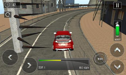 Voiture sur l'autoroute: Conduite pendant l'évasion capture d'écran