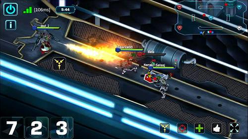 Fhacktions go: GPS team PvP conquest battle für Android