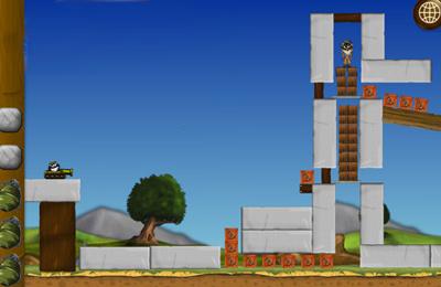 Captura de pantalla Timmy y un mono insultante en iPhone