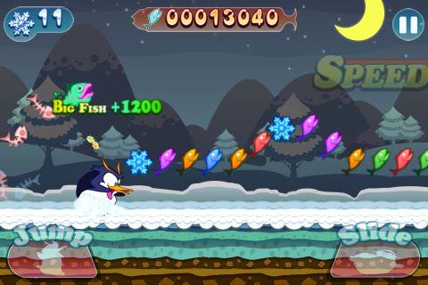 iPhone用ゲーム ダッシュ!ダッシュ!ペンギ のスクリーンショット
