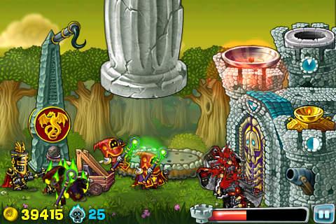 Arcade: Lade Ritter im Angriff auf dein Handy herunter