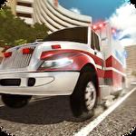 City ambulance: Rescue rush Symbol