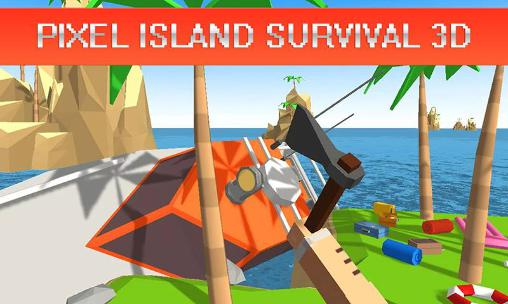 Pixel island survival 3D Screenshot