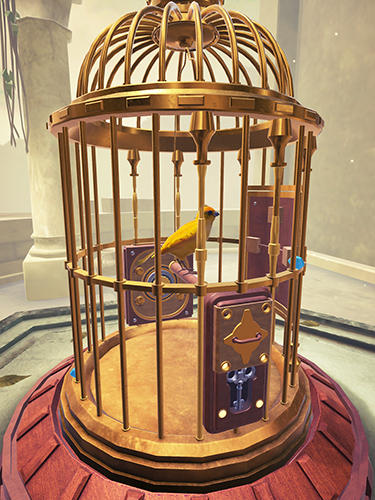 Logik The birdcage: A mystery puzzle game für das Smartphone