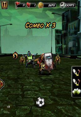 Arcade-Spiele: Lade Zombie Fussballspiel auf dein Handy herunter
