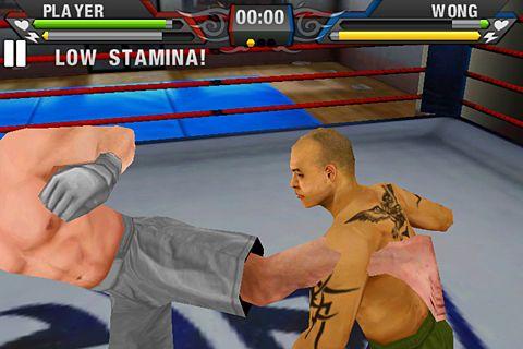 Screenshot MMA: Mix Martial Arts auf dem iPhone