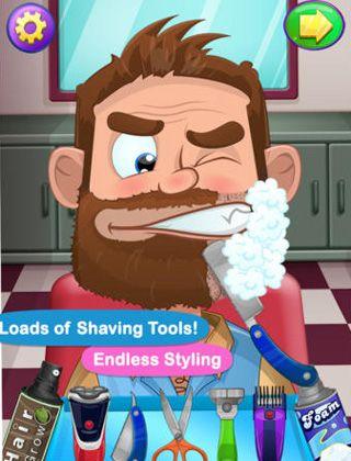 Verrückte Rasur für iPhone